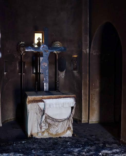 Καταστροφή από εμπρησμό στο βυζαντινό μοναστήρι των Αγίων Ταξιαρχών στο Νεοχώρι! (φωτό)
