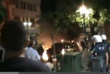 Επεισόδια και επιθέσεις σε τράπεζες μετά την πορεία (φωτό-video)