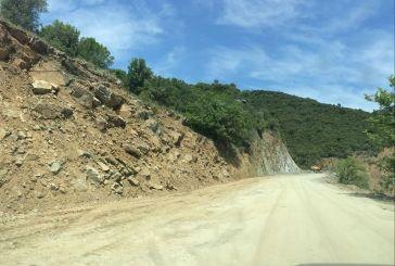 Εντατικά τα έργα στο δρόμο Αμοργιαννοί-Μαλατέικο