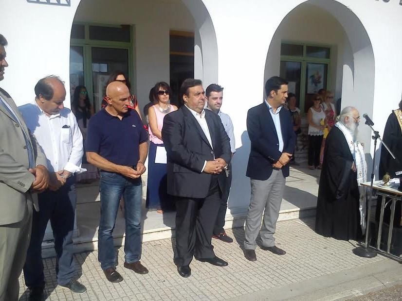 Ο δήμαρχος Αγρινίου επισκέφτηκε το 2ο και 6ο ΓΕΛ  και το 10ο δημοτικό.