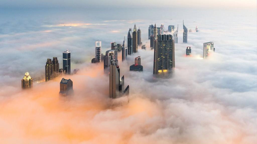 Οι ουρανοξύστες του Ντουμπάι: Και όμως δεν είναι αεροφωτογραφία!