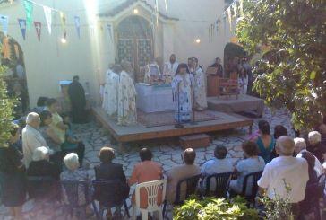 Με ιδιαίτερη λαμπρότητα γιορτάστηκε η Παναγία η Κατερινιώτησσα στη Γαβαλού