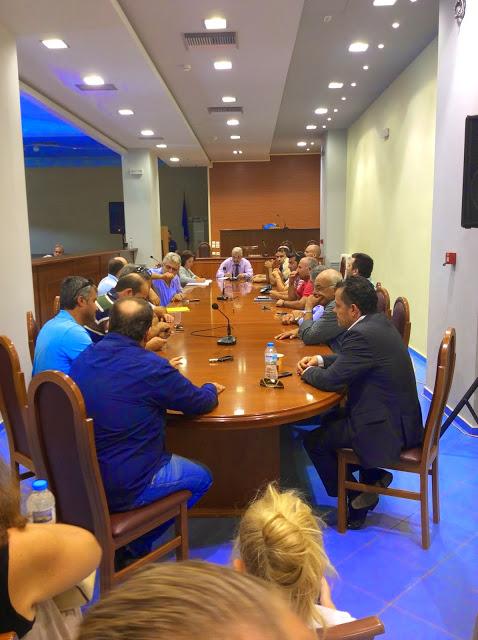 Aστακός: Σύσκεψη για την ποιότητα του πόσιμου νερού