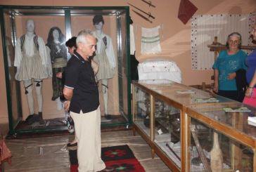 Συνεχίζονται οι επισκέψεις στο Λαογραφικό Μουσείο Αγραμπέλου