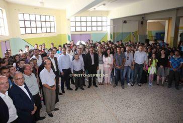 Στον Εμπεσό ο Υφυπουργός Παιδείας Γιώργιος Στύλιος (φωτό)