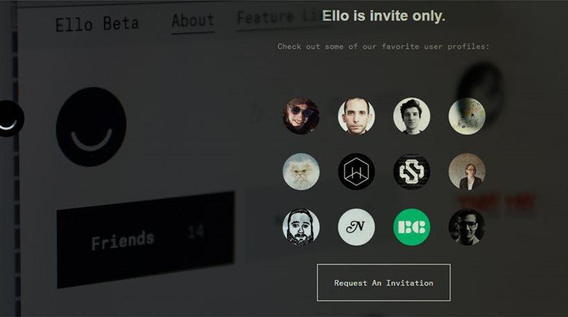 Χαμός με το Ello, το «αντίπαλον δέος» του Facebook