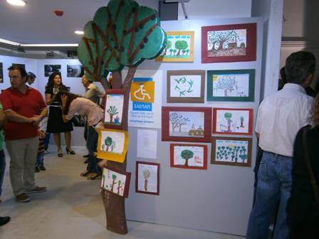 """Τα παιδιά της ΕΛΕΠΑΠ ζωγράφισαν με θέμα """" Ελιά και λάδι ο χρυσός της Μεσογείου"""""""