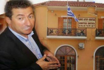 O Κώστας Μπαλατσούρας πρόεδρος του Δημοτικού Συμβουλίου Ακτίου- Βόνιτσας