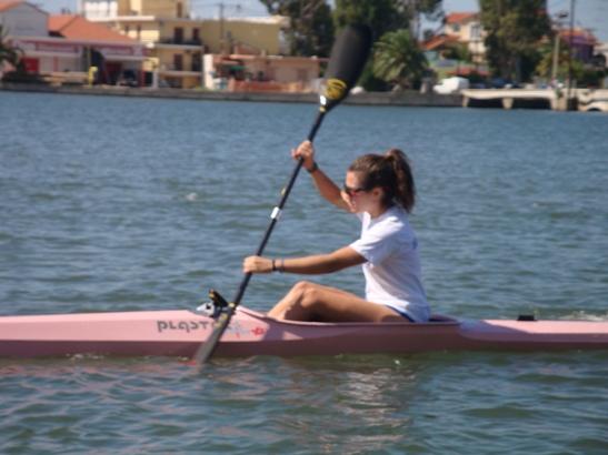 Επίδειξη Kanoe Kayak στο Αιτωλικό
