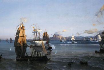 Η ζωγραφική απεικόνιση της Ναυμαχίας Ρίου-Αντιρρίου