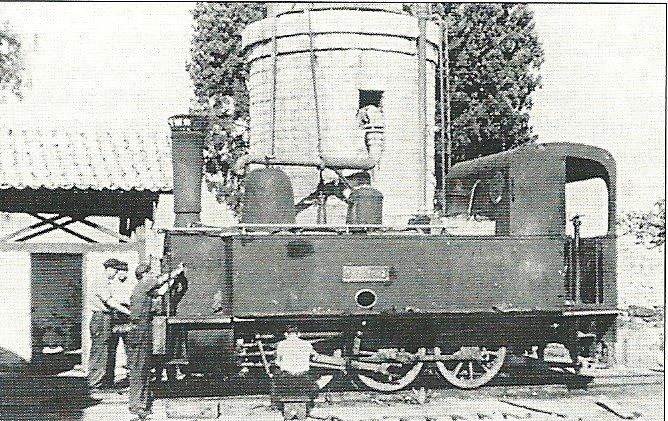 Όταν μια παλιά ατμομηχανή τρένου εφοδιάζονταν στο Αγρίνιο με νερό…
