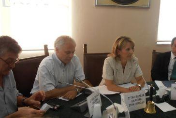 To νέο προεδρείο και η οικονομική επιτροπή του Περιφερειακού Συμβουλίου