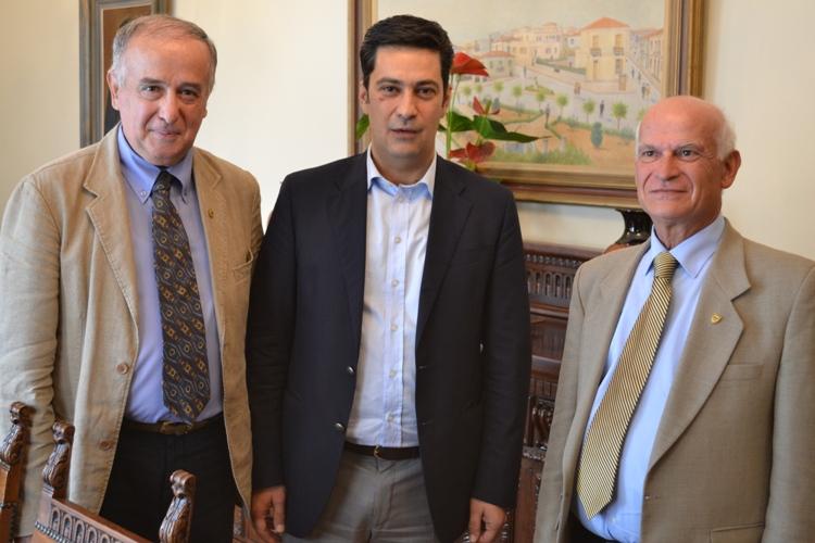Με τον αγρινιώτη πρόεδρο της ΕΑΑΣ συναντήθηκε ο Παπαναστασίου