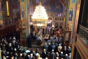 Πάνδημη η κηδεία του Αθανάσιου Παλιούρα