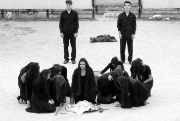 """""""Τρωάδες"""" – Παράσταση, αρχαίο θέατρο Δίον από το  ΓΕΛ Αιτωλικού"""