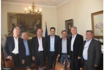 Επίσκεψη Αποστράτων στον δήμαρχο Αγρινίου