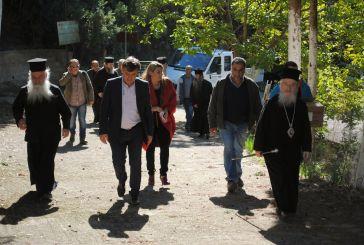 Ξεκινούν οι εργασίες στην εκκλησία της Κοιμήσεως της Θεοτόκου στην Παναγούλα