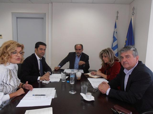 Συνάντηση Κατσιφάρα- Παπαναστασίου για τα έργα ΕΣΠΑ