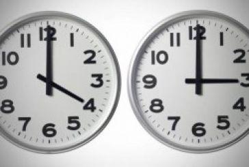 Την Κυριακή 26 Οκτωβρίου γυρίζουμε τα ρολόγια μας μια ώρα πίσω