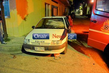Επεισόδια στο Μεσολόγγι, έσπασαν οχήματα της αστυνομίας (φωτό)