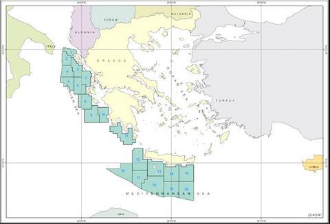 Τον Οκτώβριο του 2015 οι συμβάσεις για υδρογονάνθρακες σε Ιόνιο-Κρήτη