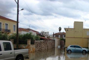 Video από το πλημμυρισμένο Αιτωλικό