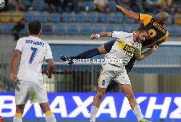 Δείτε τα γκολ του Αστέρας Τρίπολης- Παναιτωλικός 1-1