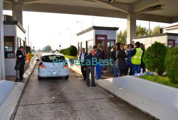 Στο πλευρό των απολυμένων του Σταθμού Διοδίων  Ακτίου ο ΣΥΡΙΖΑ.