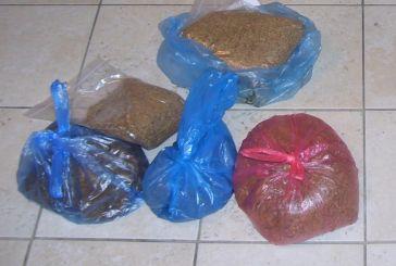 Κατασχέθηκαν 38 κιλά λαθραίου καπνού στην Κατούνα