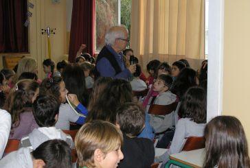 O Μάνος Κοντολέων στο 1ο Δημοτικό Σχολείο Αγρινίου