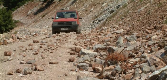 O δήμος Θέρμου απαιτεί την ασφαλτόστρωση του οδικού δικτύου