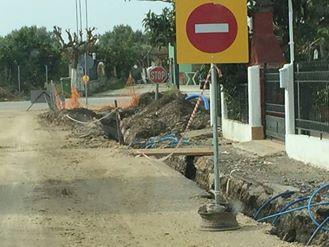 Προχωρά η αντικατάσταση του δικτύου ύδρευσης Λουτρού