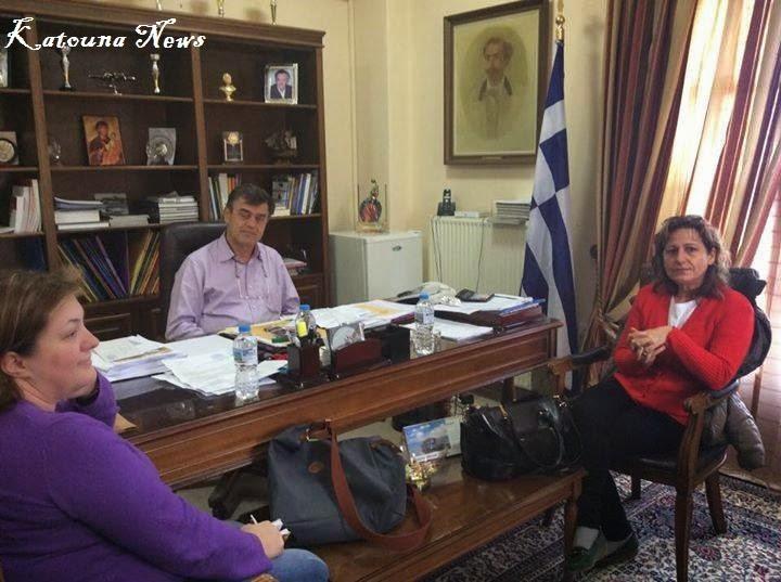 Συζήτησαν τα θέματα αρχαιοτήτων που απασχολούν το Δήμο Ακτίου-Βόνιτσας