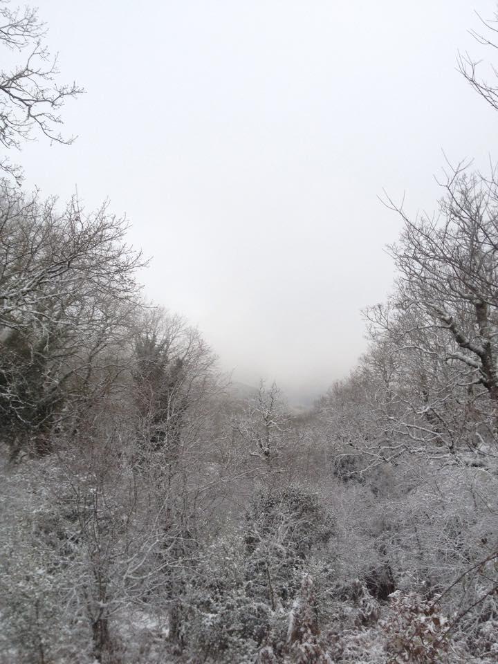 """Στην """"κατάψυξη""""  η Ορεινή Ναυπακτία (φωτό)"""