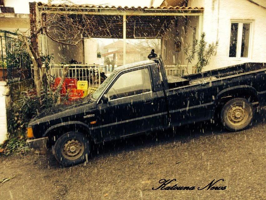 Σήμερα: Χιόνι τις πρωινές ώρες  σε Κατούνα και Κομπωτή