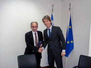 Συνάντηση Κατσιφάρα με τον Πρέσβη της Ολλανδίας