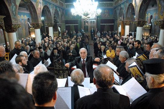 Χριστουγεννιάτικη εκδήλωση του Συλλόγου Ιεροψαλτών «Αρχιδιάκονος Άνθιμος» στο Αιτωλικό