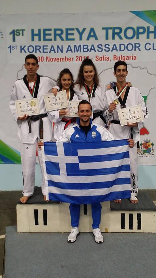 Νέες διεθνείς διακρίσεις στο Taekwondo για τον Α.Σ.Θησέα (φωτό)