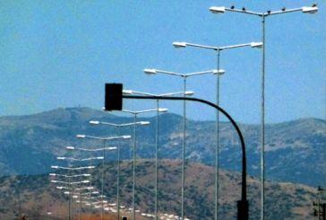 Έργα συντήρησης ηλεκτροφωτισμού στο εθνικό οδικό δίκτυο