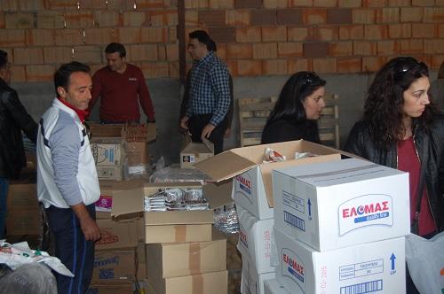 Συγκέντρωση τροφίμων για τις άπορες οικογένειες στο Ξηρόμερο