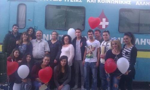 Με επιτυχία η εθελοντική αιμοδοσία του ΤΕΙ  στο Μεσολόγγι