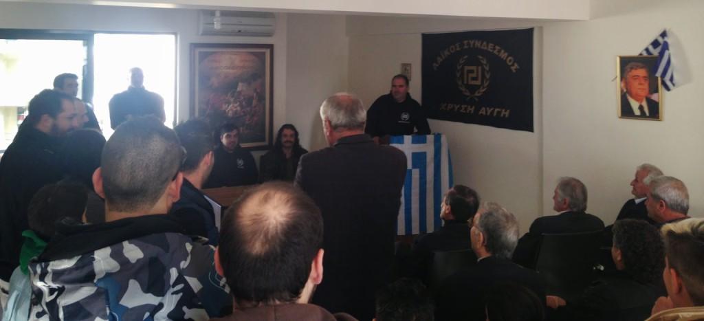 Μεσολόγγι: εκλογική ετοιμότητα στη Χρυσή Αυγή
