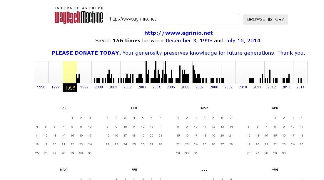 Τα πρώτα sites του Αγρινίου πριν την …ADSL εποχή