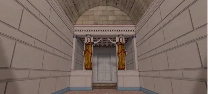 Το πιο ολοκληρωμένο τρισδιάστατο «ταξίδι» στον τάφο της Αμφίπολης [βίντεο]