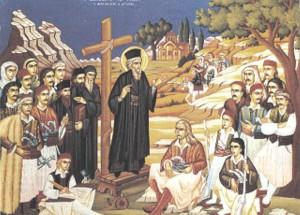 Οι Σαρακατσαναίοι τιμούν τον Άγιο Κοσμά τον Αιτωλό