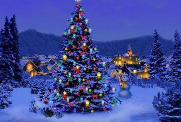 Χριστουγεννιάτικο χωριό στην Παραβόλα