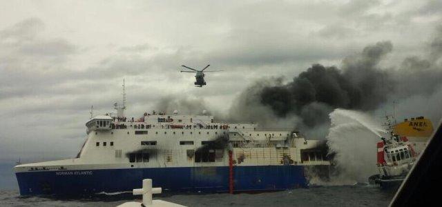 Σπ. Ζαχαράτος(συμπατριώτης μας επιβάτης Norman Atlantic):Ζήσαμε μια κόλαση, σωθήκαμε από θαύμα !