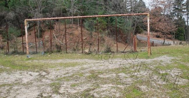 Εικόνες εγκατάλειψης στο γήπεδο της Γρανίτσας(Φώτο)