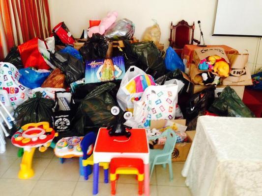 Με επιτυχία η συλλογή παιχνιδιών στον Άγιο Κωνσταντίνο