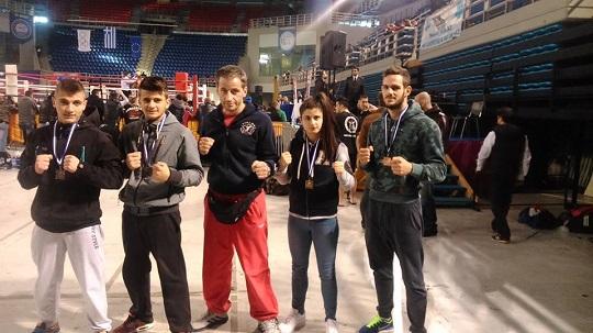 Πανελλήνιο άθλο ο Γ.Σ. Ηρακλής Αγρινίου στο kick boxing!